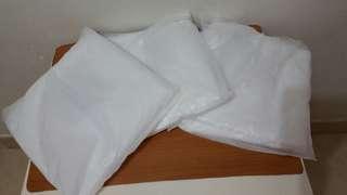 全新白色垃圾袋、多咗出來1包5元有三包全要13元平買