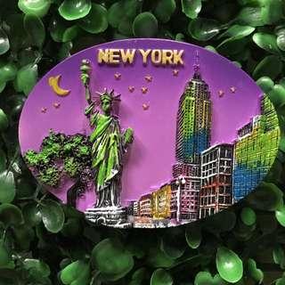 New York souvenir ref magnet
