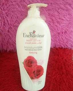Enchanteur Moisturizing Silk Body Lotion 750 ml