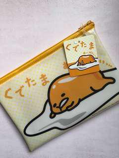 Gudetama Pouch authentic Sanrio from japan