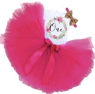 1st Birthday Party Tutu Dress