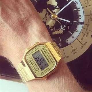 Casio 潮錶 復古錶