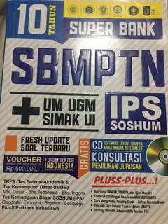 10 TAHUN SUPER BANK SBMPTN IPS SOSHUN + UM UGM - SIMAK UI