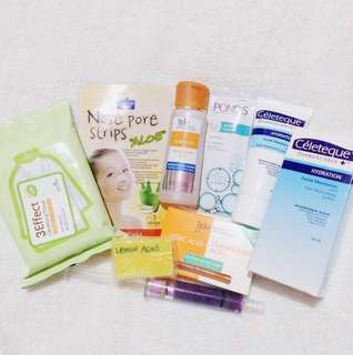 Starts @60! Take all @350! Skincare set
