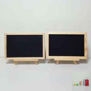 [For Rent] 2 Small Chalkboards with Easels & Chalks SS038