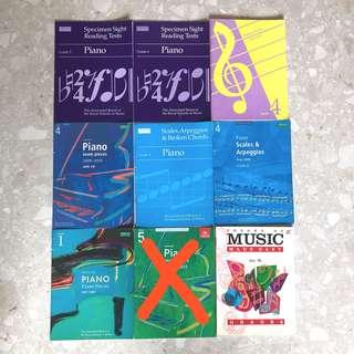 Piano Music Books Sale!