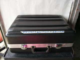 Black storage box /Suitcase for sale @$80 Each