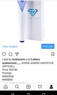 SUPER JUNIOR LIGHTSTICK