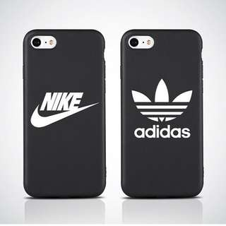 Matte Nike or Adidas Case for iphone 6 to X