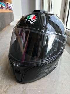 Helmet - AGV Sport Modular Carbon Helmet (M size)