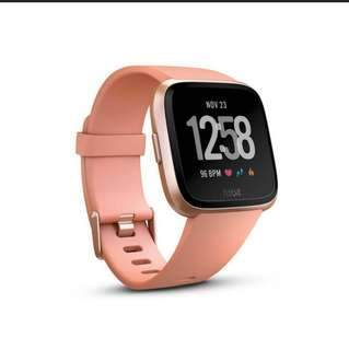 Fitbit Versa Fitness Watch (Rose Gold Colour)