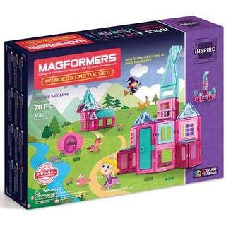 Magformers princess castle 78 pieces