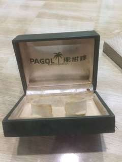 Vintage pagol watch box