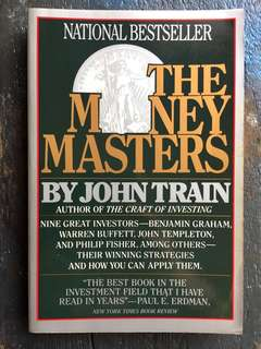 The Money Master by John Train
