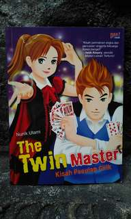 Novel anak The Twin Master