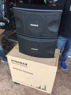 DYNAMAX CS450 Karaoke Speaker