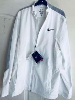 Nike Woven Tennis Jacket - White/Wolf Grey