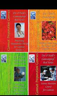 GAMSAT Des O'Neill 4x Books + MedPrep/Ozimed practice resources