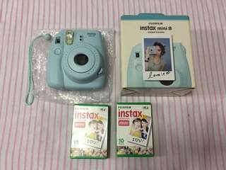 Instax Mini 8 Blue RUSH!!!