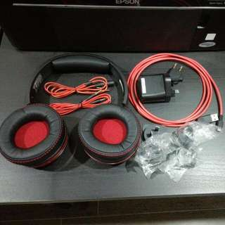 Preloved Creative Sound Blaster EVO ZXR Gaming Headphone