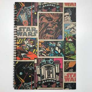 🚚 TYPO STAR WARS A4 LINED CAMPUS NOTEBOOK