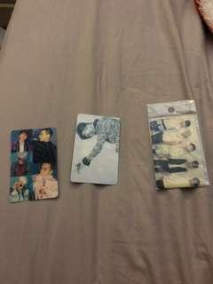 Bigbang ezlink cards sticker