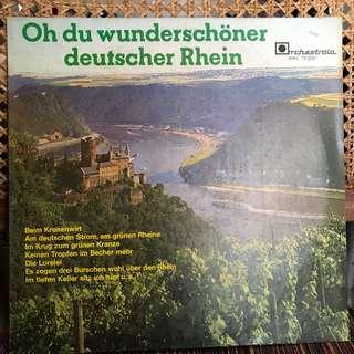 Vynil Record - Oh du wunderschöner deutscher Rhein