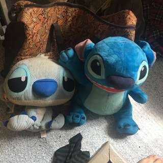 Stitch stuffed toy bundle