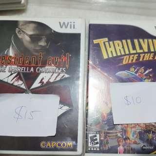 Nintendo Wii Game Lot