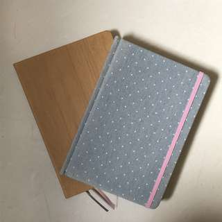 Brand new notebooks