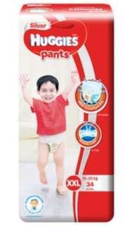 FLASHSALE: Huggies Silver Pants