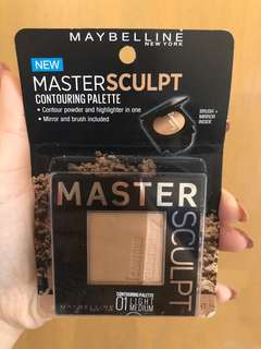 NEW Maybelline Master Sculpt Contouring Palette