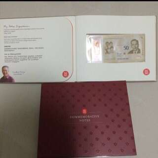 SG50 Commemorative Notes - new notes