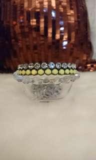 🚚 螢光黃彈性手環