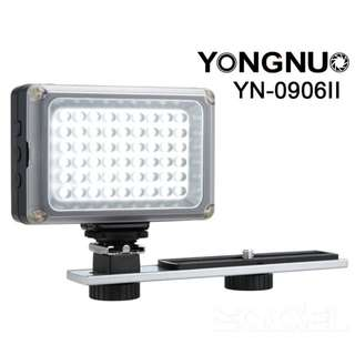 YONGNUO YN0906 II YN0906 II 54 LED 5500K/3200K LED Video Light Lamp Photography Lighting for Canon Nikon DSLR Camera Camcorde