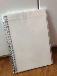 Dotted A5 Spiral Notebook 80 pieces