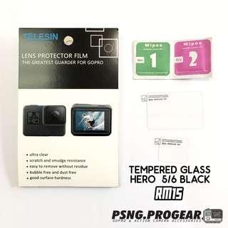TELESIN Tempered Glass for GoPro Hero 5/6 Black