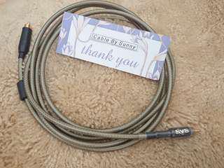 SVS subwoofer cable (LFE)