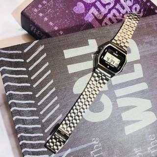 Casio 新款 銀色 天然鑽石