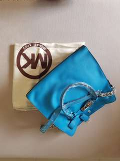 Michael Kors Authentic Aqua Handbag (Large)