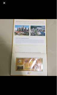 50 Years Commemorative Notes - Brunei and Singapore