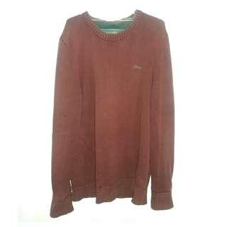 Dijual Sweater Rajut S oliver Warna merah maroon termurah