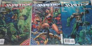 DC COMICS THE NEW 52 JUSTICE LEAGUE #2-4 COMBO PACK EDITION