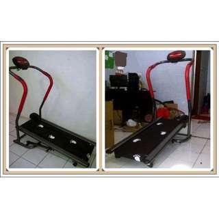Treadmill Elektrik TL 002 1 Fungsi Tiang Lengkung Paling Laris Harga Murah