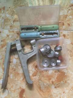 Back watch press & back watch opener tools
