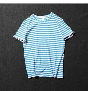 ☀️全新//藍白條紋短T
