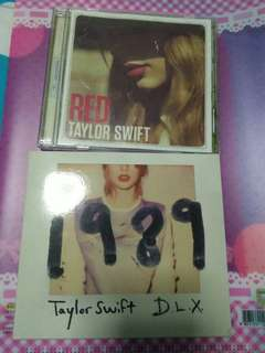 Taylor Swift CDs