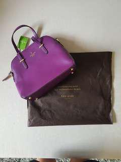 Kate Spade Medium Handbag - Violet (Authentic)