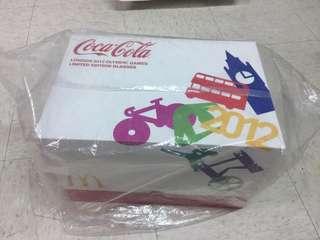 (絕版)可口可樂倫敦2012奧運杯 套裝連紀念光碟