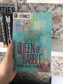 Queen of Babble by Meg Cabor